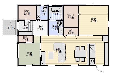 24坪の家 間取り